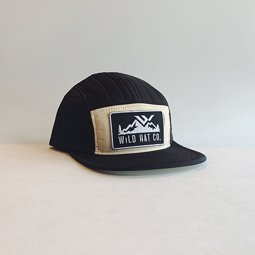 Foam/Mesh Palm Tree Trucker Hat - wild hat company logo