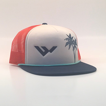 wild hat company | palm tree trucker hat for the mountain lifestyle
