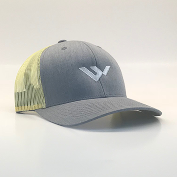 wild hat company | pre curved trucker hat